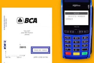 Cara Membatalkan (Void) Transaksi di Mesin EDC BCA