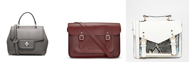 diferentes tipos de bolsos satchel