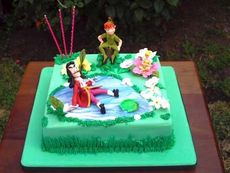 Tortas De Peter Pan Y Campanita Imagui