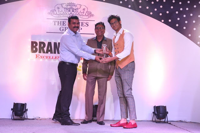 Alberto Torresi wins Brand Icon Award 2016 held by The Times of India