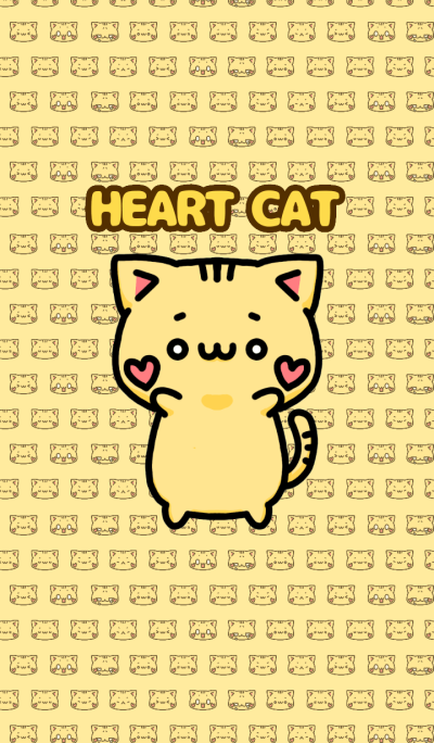 Heart Cat .