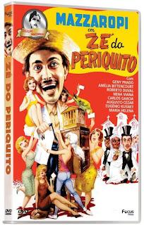 DVD Zé do Periquito - Coleção Mazzaropi
