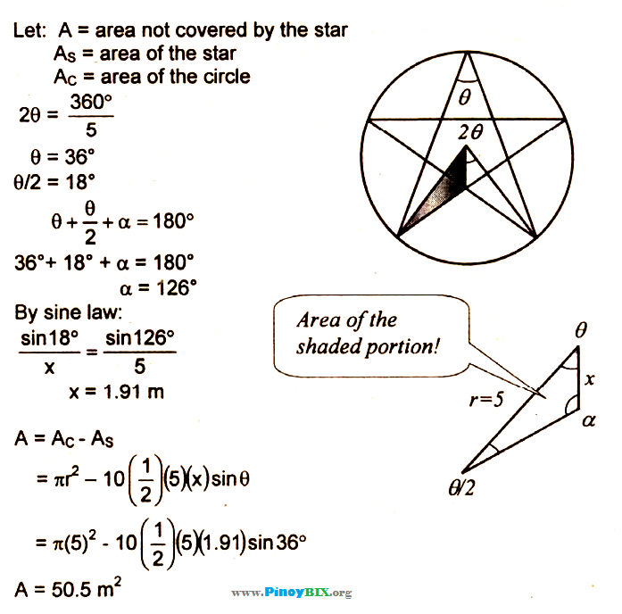 Area of circle worksheet grade 8