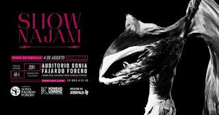 Show NAJAM en Bogotá (Danza)