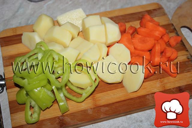 Шорпа с цыпленком (кавказская кухня) рецепт пошаговые фото