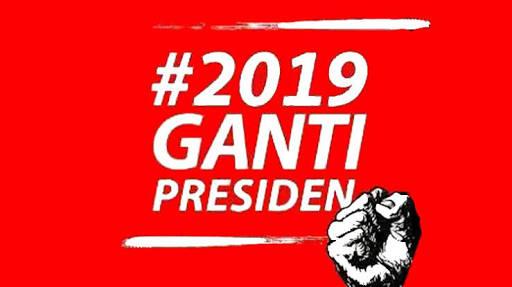 #2019GantiPresiden Antitesis dari Gerakan 'Dua Periode'