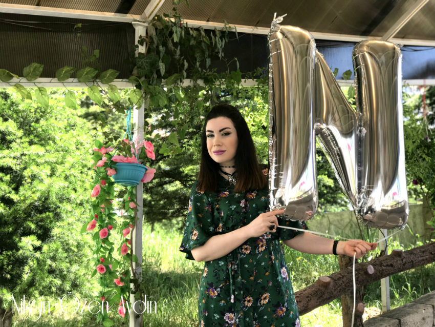 alışveriş-Çiçekli Tulum ve Mor Çanta-moda blogu-fashion blogger
