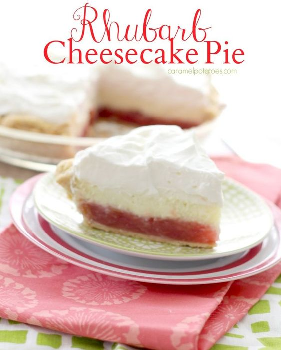 Don't you wish you could come over and enjoy a piece of this Rhubarb Pie? If I had to pick to one favorite dessert, this would be it! {yes, even above chocolate} I love this pie,