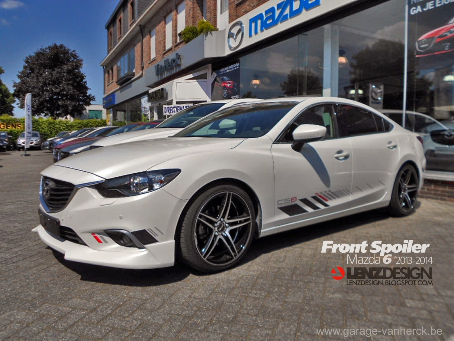 new 3rd generation body kit option mazda 6 forums. Black Bedroom Furniture Sets. Home Design Ideas