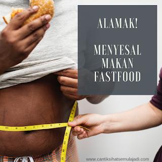 Minyak Ikan Omega Guard Bantu Turun Berat Badan Obesiti Akibat Fast Food