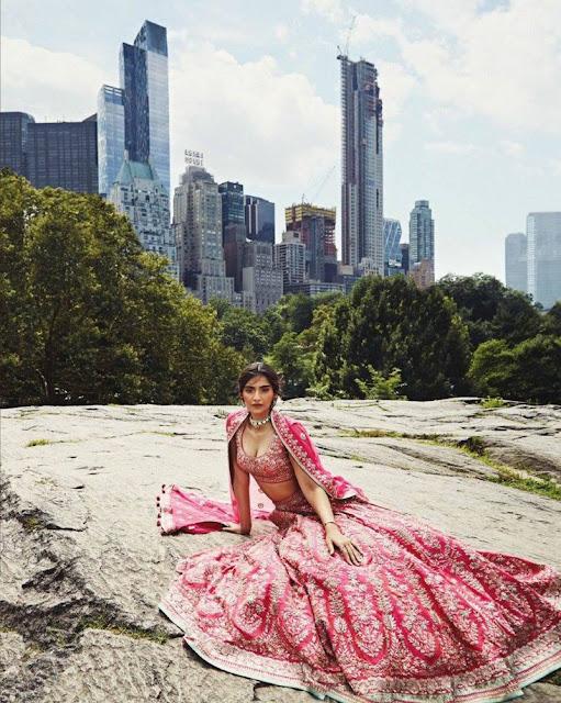 Sonam Kapoor – Harper's Bazaar Bride