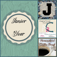 Junior Year (Blogging Through the Alphabet) on Homeschool Coffee Break @ kympossibleblog.blogspot.com