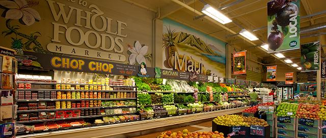 Endereços do supermercado Whole Foods em Miami