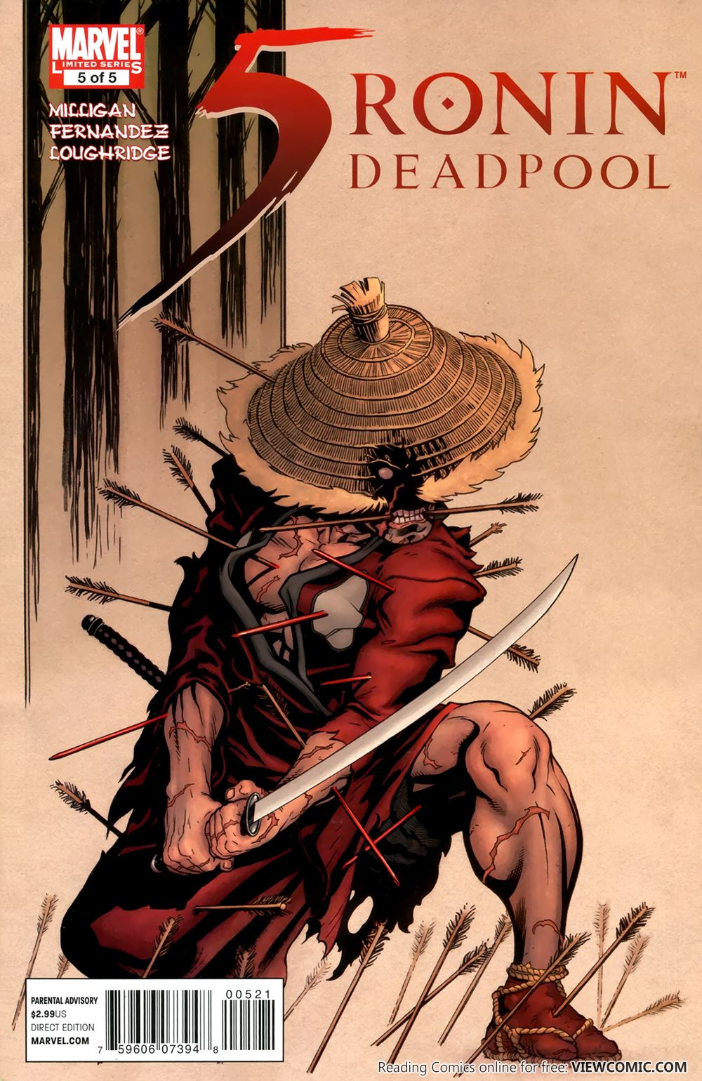 5 Ronin | Viewcomic reading comics online for free 2019
