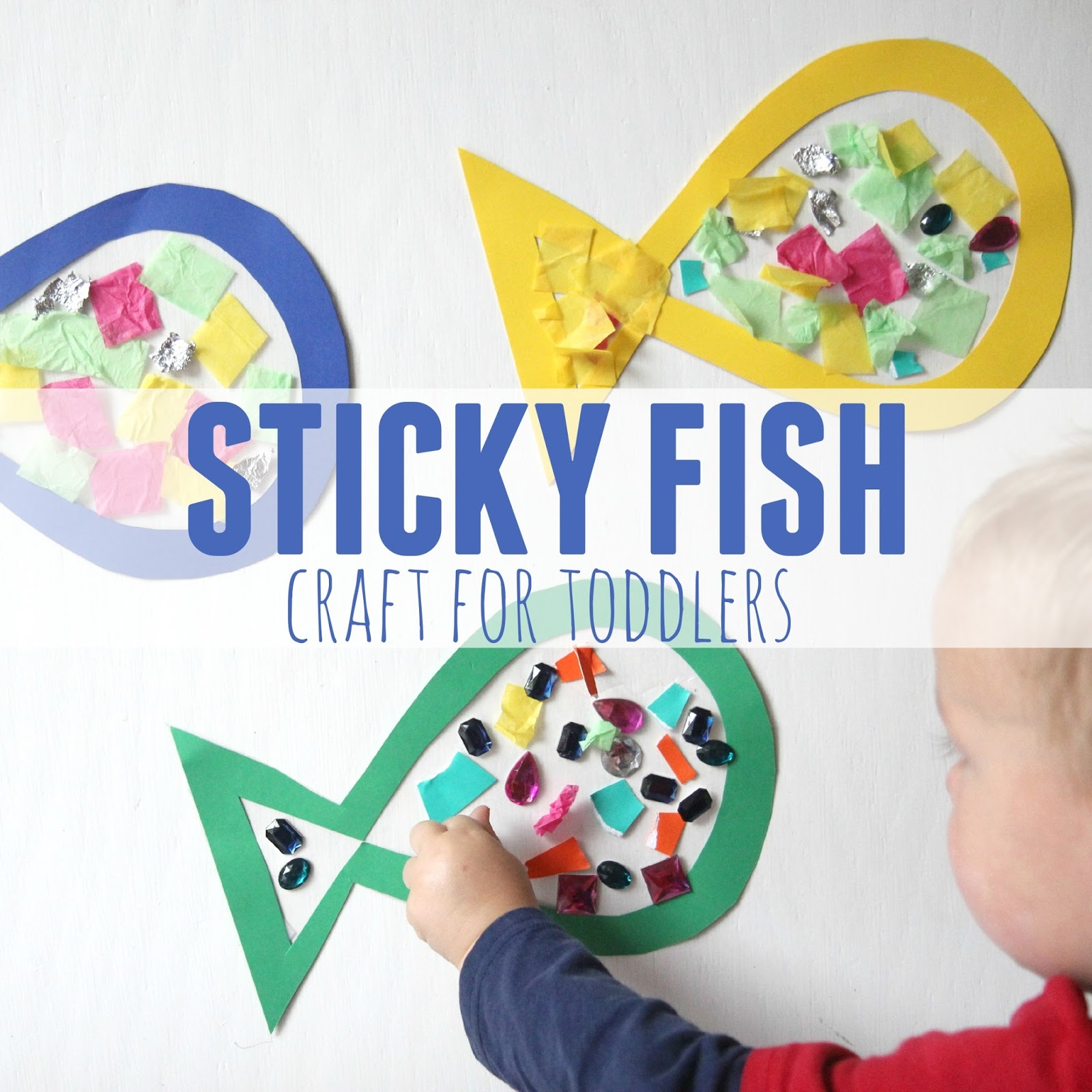 Activity Books For Toddlers Toddler Approved Sticky Fish Craft For Toddlers