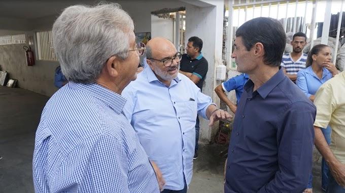 Romero cumpriu agenda intensa no último dia útil de 2017