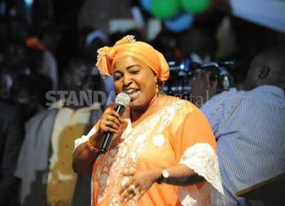 Kenyan opposition MP Mishi Mboko