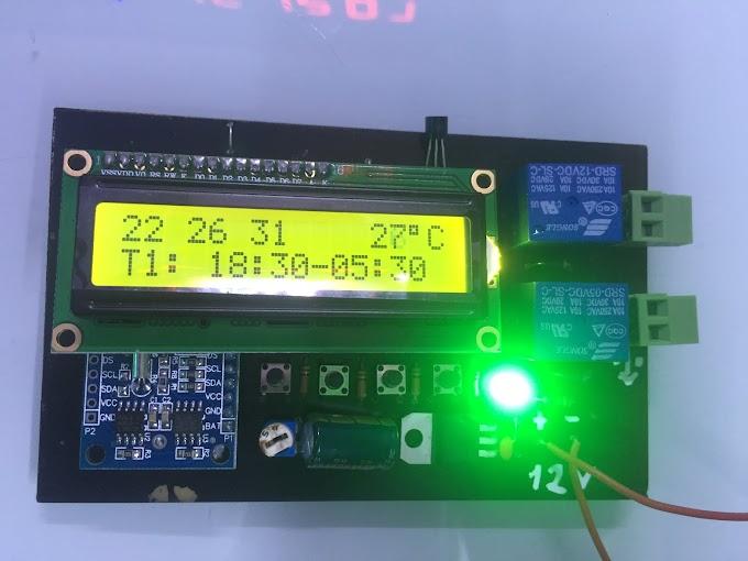 Bộ điều khiển hẹn giờ bật tắt cầu thang thông minh tiết kiệm điện tự động