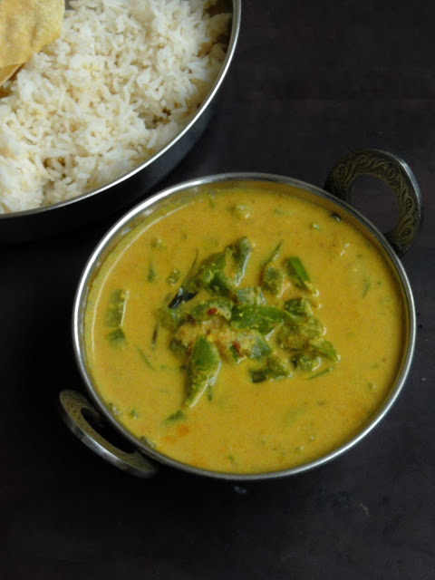Capsicum Kurma , Vegan Capsicum curry