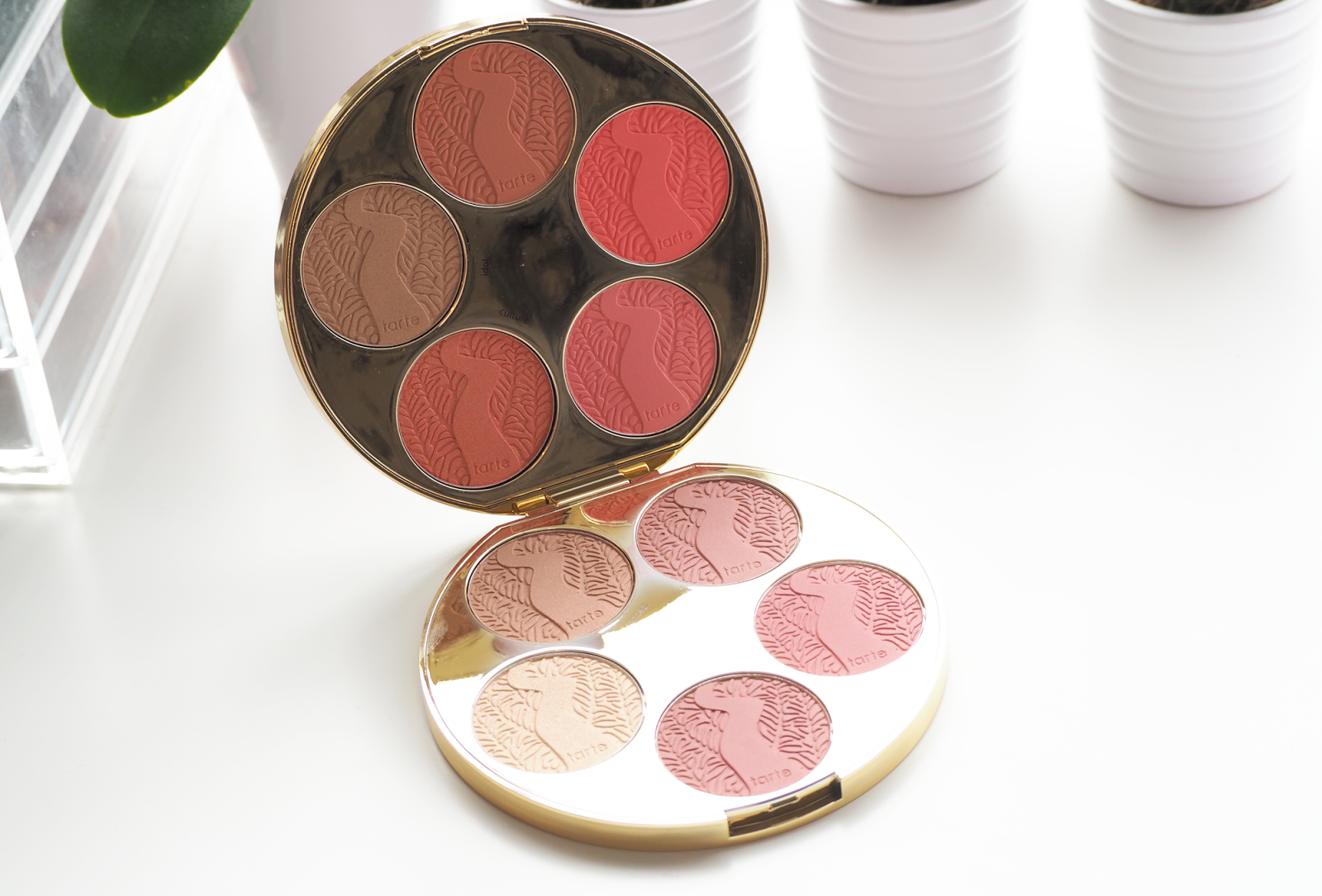 Tarte Amazonian Clay Blush Palette Colour Wheel Review
