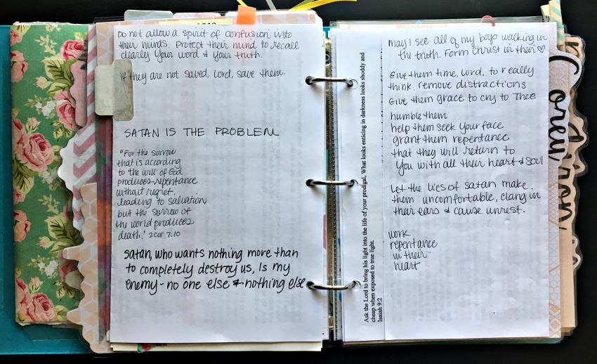 Stone Soup for Five: What's in my Prayer Binder -- Part 2!