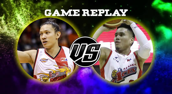 Video Playlist: SMB vs Alaska game replay July 20, 2018 PBA Commissioner's Cup Game 3