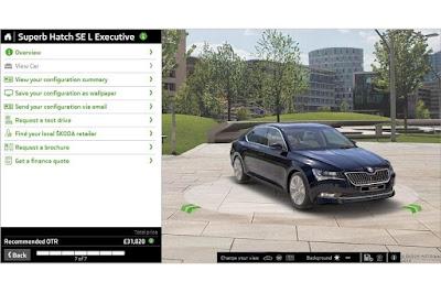Skoda Superb SE L Exec Hatch 2.0 TSI 280 4x4 DSG (2016) Configurator