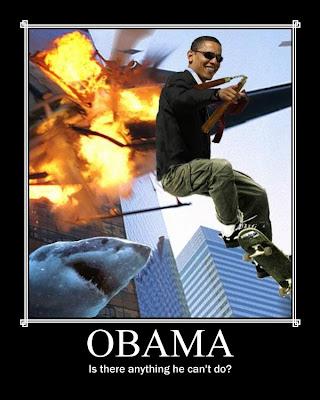 Machine Gun of Enlightenment: He Damn Well Better Take a ... Obama Badass
