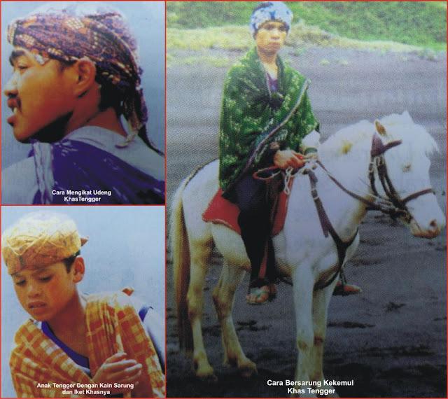 gambar pakaian adat suku tengger