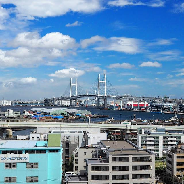 横浜 港の見える丘公園 ベイブリッジ