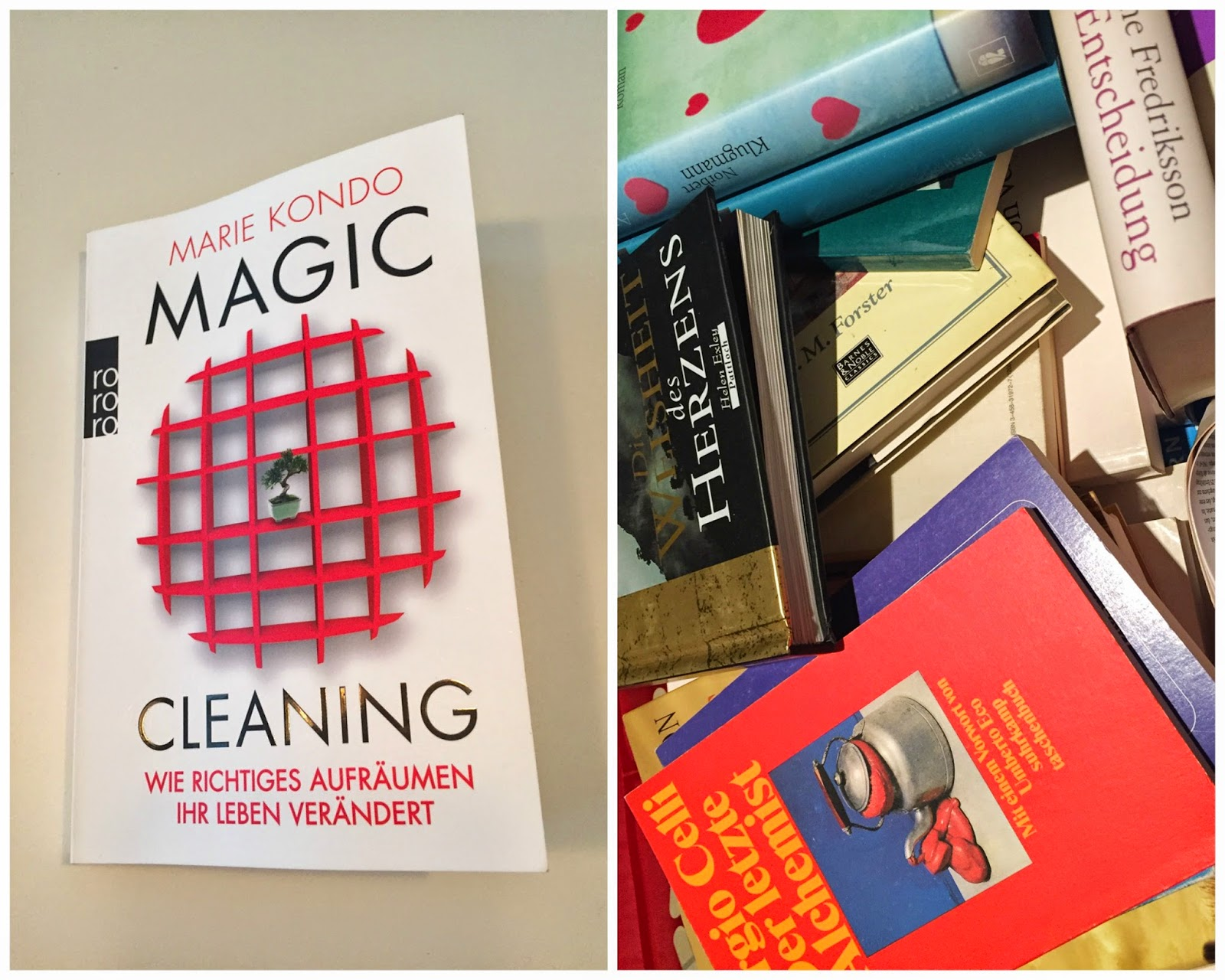 buch tipp marie kondo magic cleaning wie richtiges. Black Bedroom Furniture Sets. Home Design Ideas
