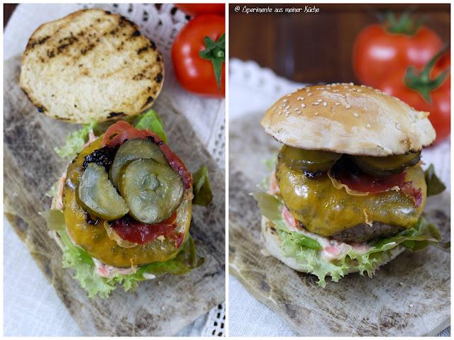 Experimente aus meiner Küche: Farmersalat - Cheeseburger {Burger Time}