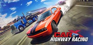 تحميل لعبة سباق الطريق السريعة الواقعية CarX Highway Racing اموال غير محدودة! نقود لاتنتهي اخر اصدار
