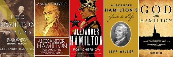 Alexander Hamilton książki