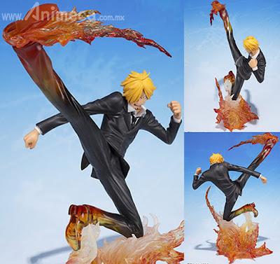Figura Sanji Diable Jambe Premier Hachis Figuarts ZERO One Piece