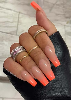 Are your fingernails looking a little boring ✘ 24+ Amazing Neon Nail Designs Ideas That Are Best for Next Summer