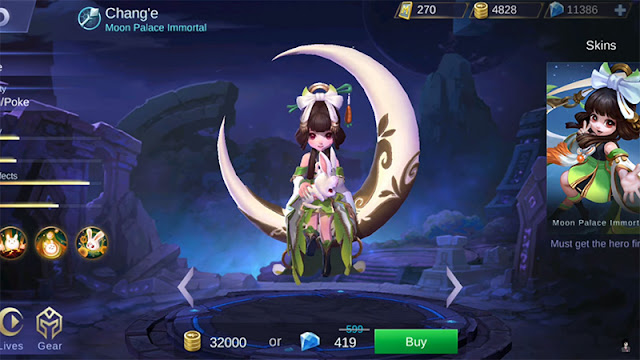 Chang'e, hero baru, mobile legend, mlbb, Chang'e Hero Baru Mobile Legends