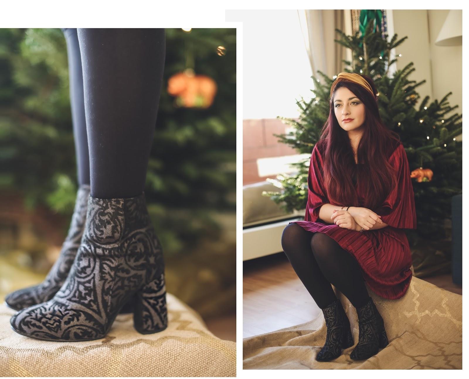 chaussures de fêtes André blog mode