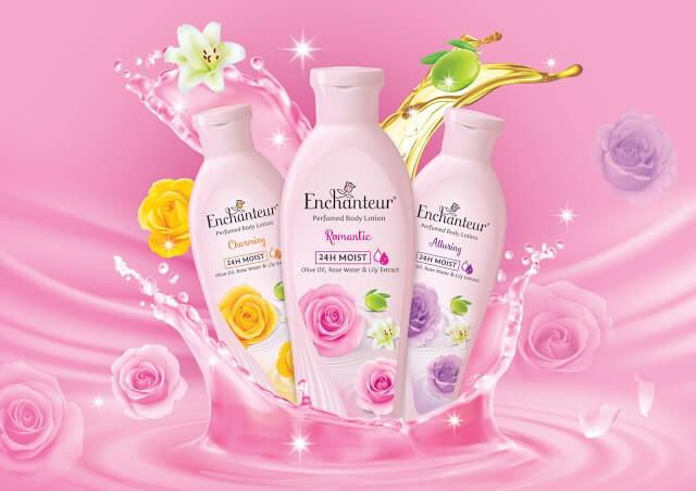Enchanteur Perfumed Body Lotion Kekalkan Haruman Sepanjang Hari