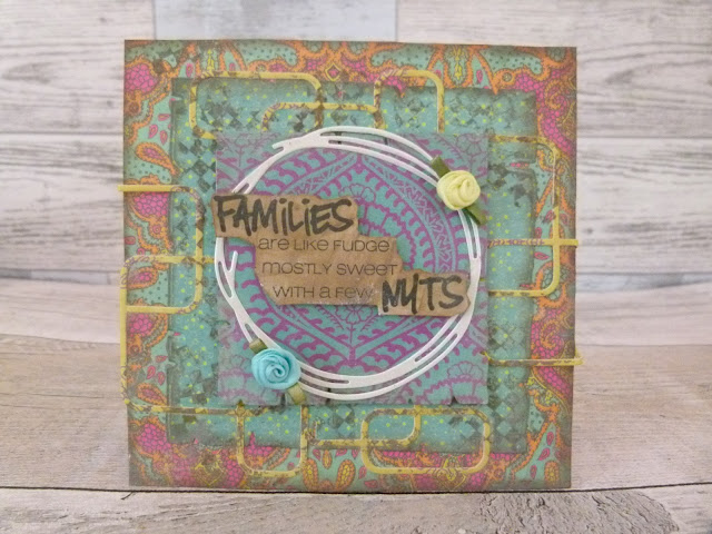 Families' Nuts Card   By Katie