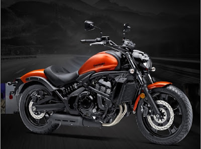 Kawasaki Vulcan S ABS Orange color