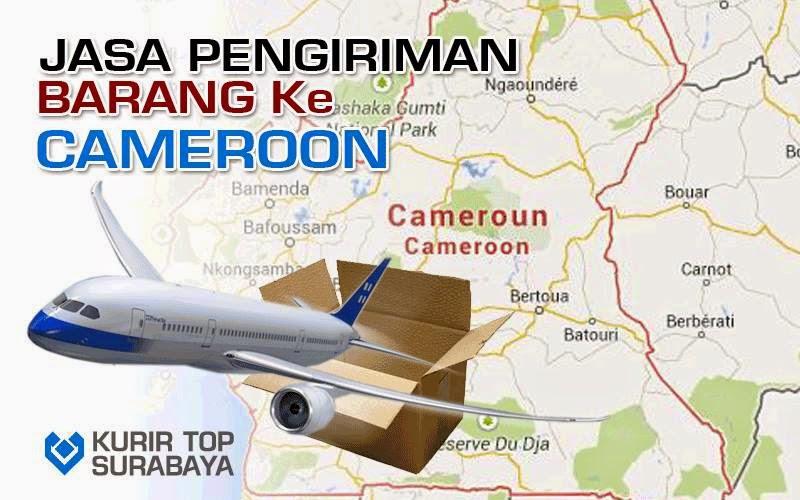JASA PENGIRIMAN LUAR NEGERI   KE CAMEROON