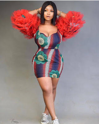 Pictures of Nigerian Short Gown Ankara Styles: for most Beautiful 2020