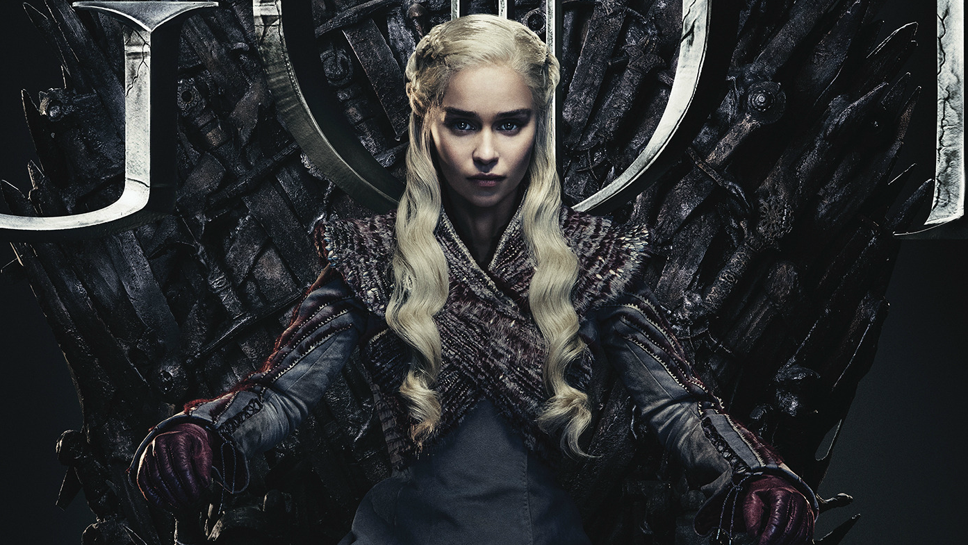 Game of Thrones Season 8 Poster Daenerys Targaryen Emilia Clarke HBO