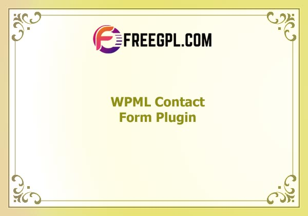 WPML Contact Form 7 Multilingual Plugin Nulled Download Free