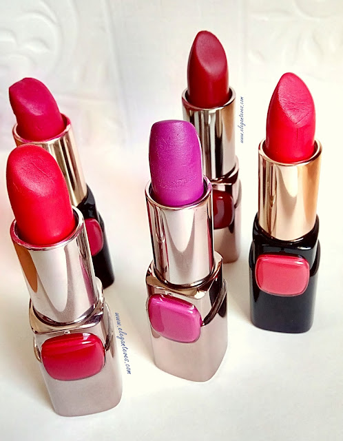 Top Five Bright L'oreal Moistmatte Lipsticks for Indian Skin Tones