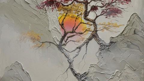 The Joy Of Acrylic Painting: Morning Sunrise