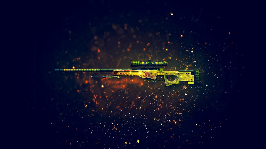Csgo Awp Dragon Lore Skin 4k 3840x2160 Wallpaper 38