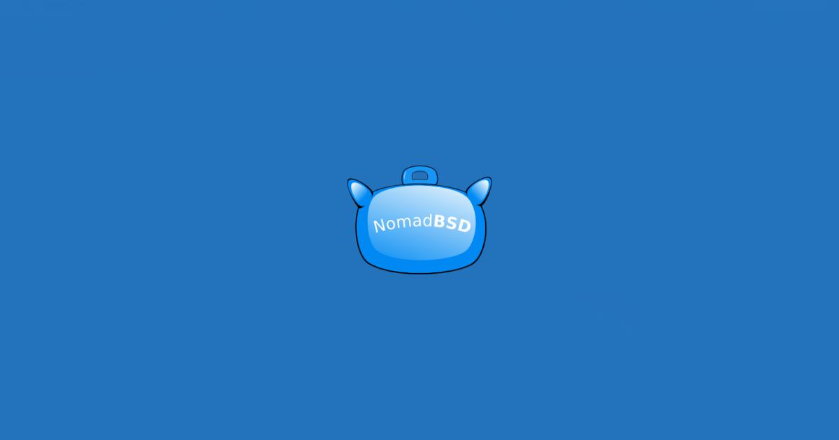 NomadBSD 1 2 Release !!! FreeBSD 12 0-p3 Based System - The Ubuntu