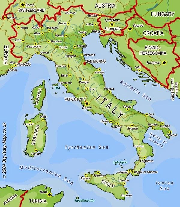 venecija mapa Put do Barselone: Putovanje po Španiji venecija mapa
